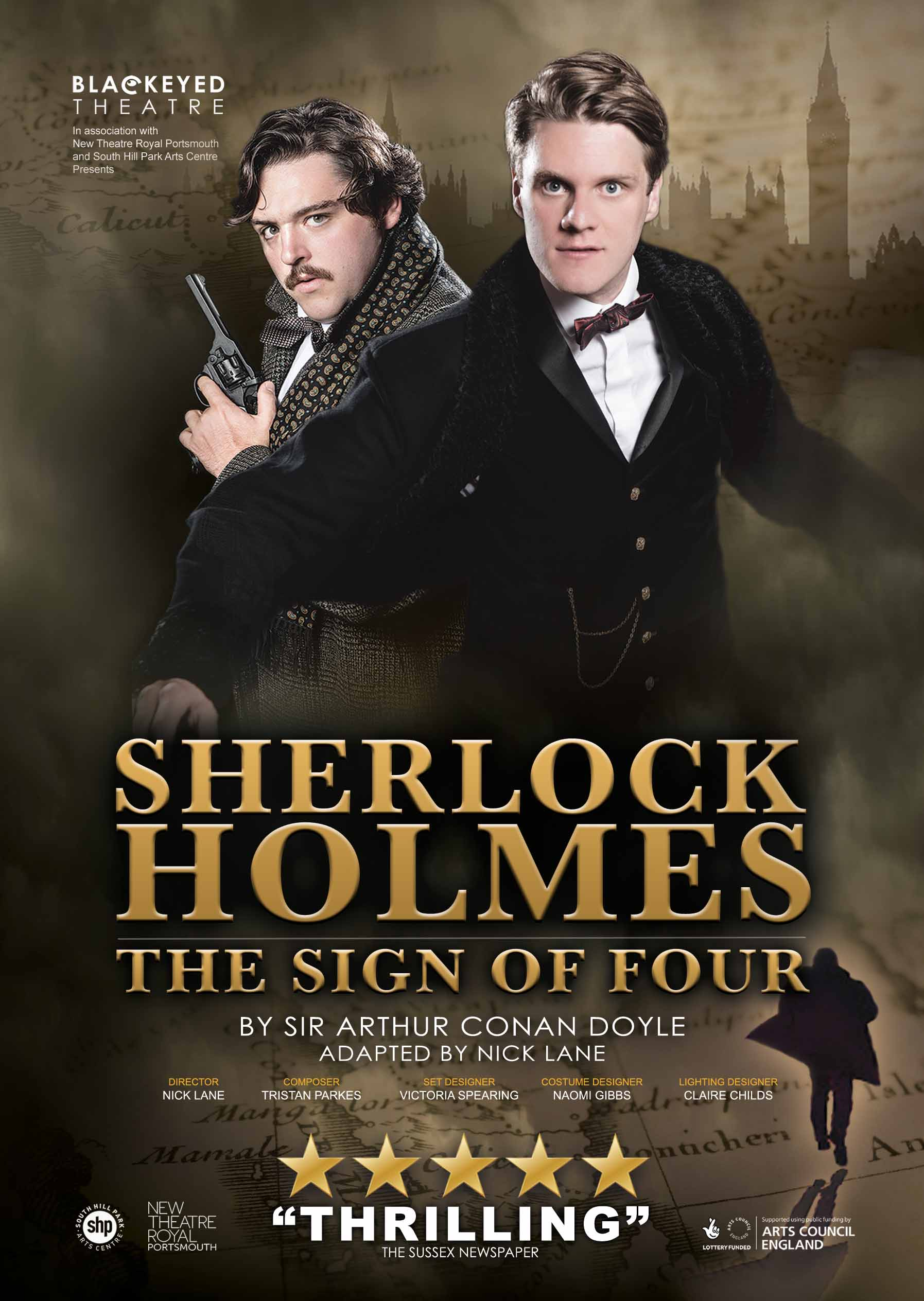 blackeyed theatre sherlock holmes the sign of four