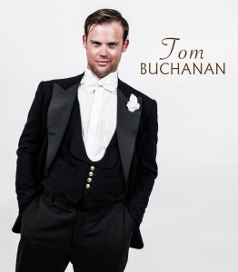 Tristan Pate as Tom Buchanan